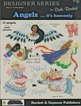 """Soft Covered Book """"Angels...It's Heavenly"""" Cross-Stitch - Gently Used - $7.00"""