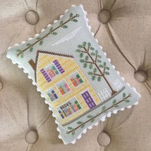 Bookstore #2 Main Street Station cross stitch Country Cottage Needleworks  - $5.40