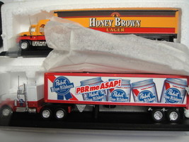 Brewmaster Matchbox Collectibles Honey Brown Lager + Pabst Blue Ribbon - $58.50