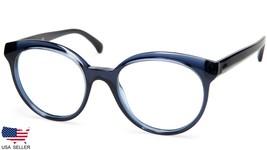 New Chanel Ch 3355 c.508 Transparent Blue Eyeglasses Frame 51-19-140 B45mm Italy - $176.40
