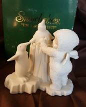 Dept 56 Snowbabies I'M MAKING AN ICE SCULPTURE #68420 Snowbaby With Peng... - $14.00