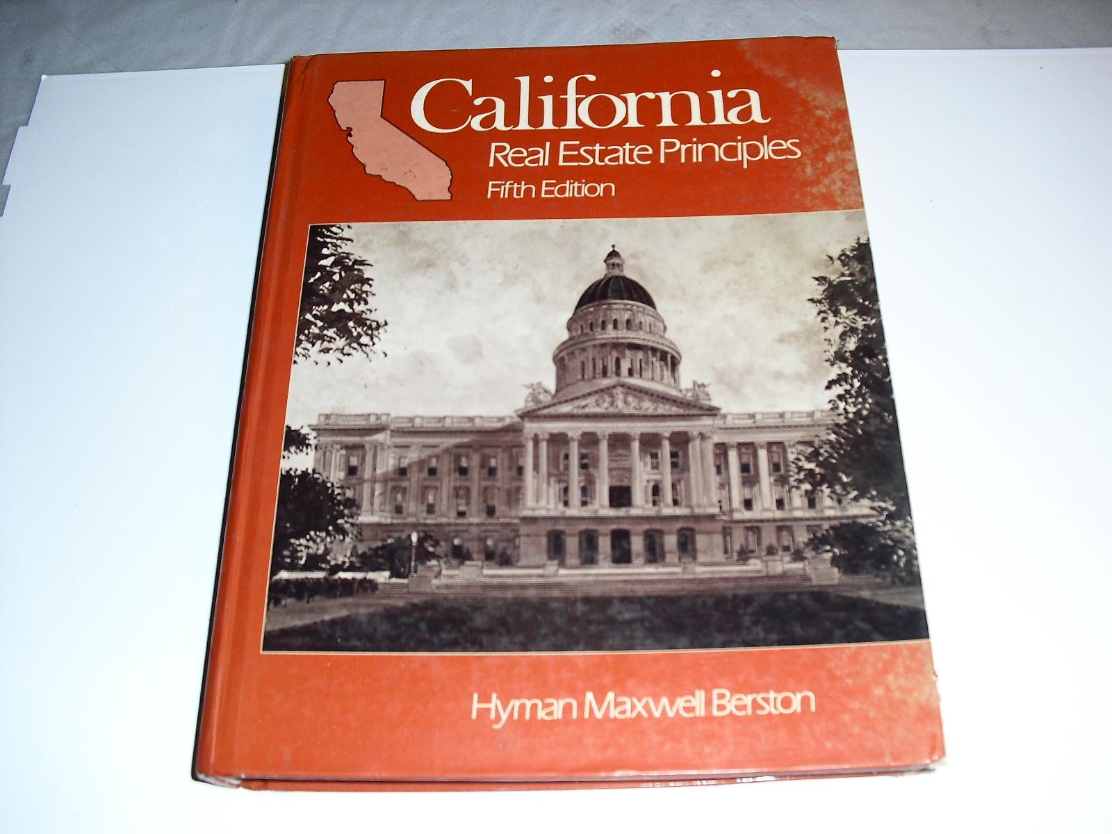 california  real  estate  principles  5 th  edition