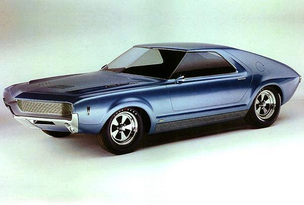 Primary image for 1965 AMC AMX I Concept Car - Promotional Photo Poster