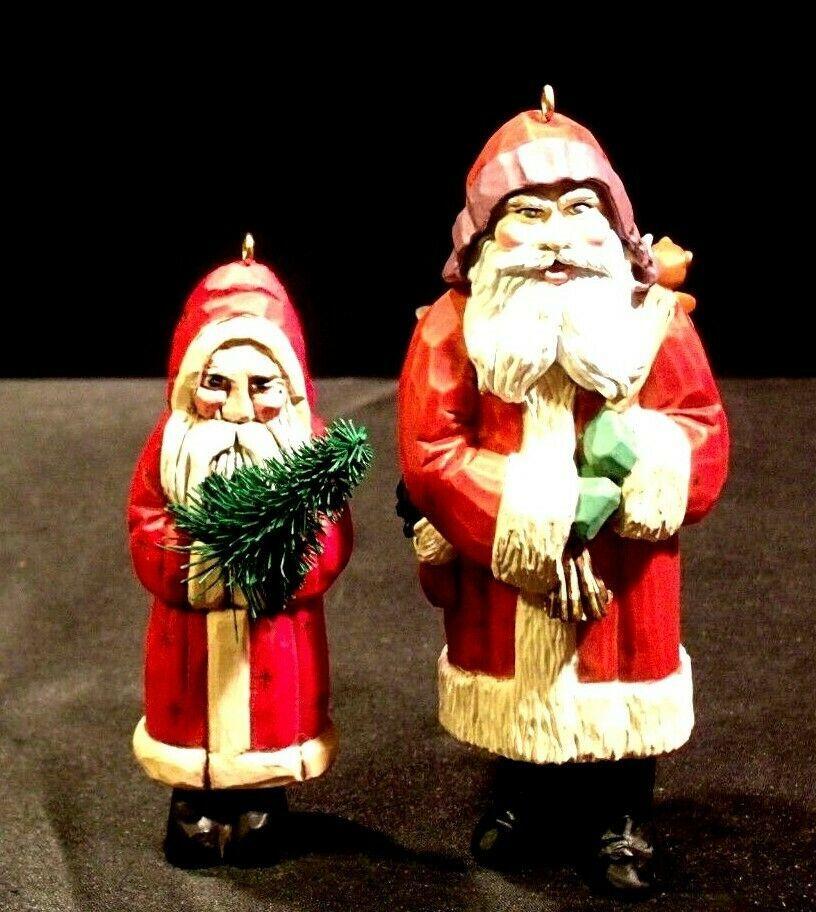 Hallmark Handcrafted Ornaments Old Fashioned Christmas Santa Ornament AA-191783 image 6