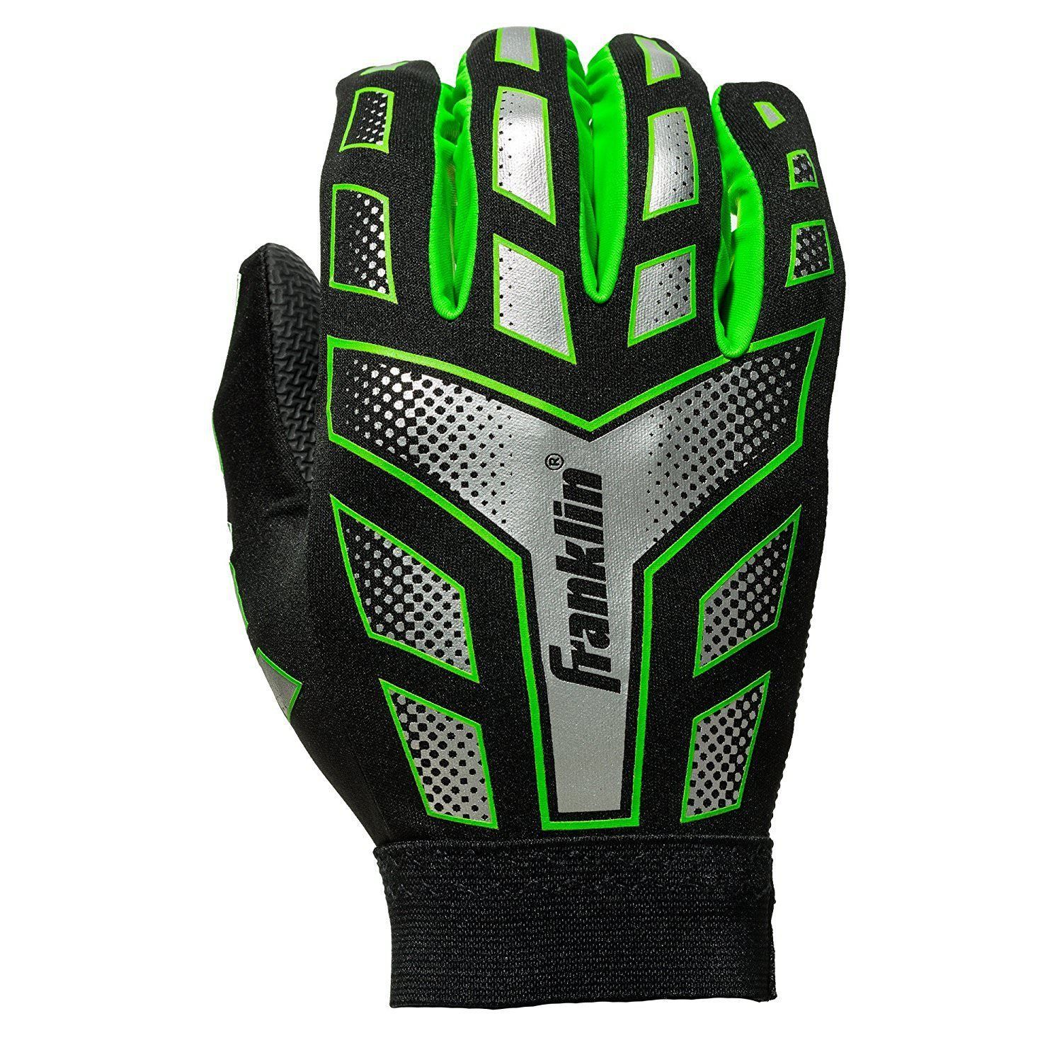 cheap for discount ea985 02861 Franklin Sports Football Receiver Gloves and 50 similar items. 57