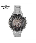 Dilwe Men Automatic Mechanical Wristwatch, 4 Colors Skeleton Watch Stain... - $18.73