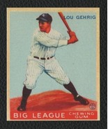 LOT of 25 REPRINT 1933 Goudey #160 LOU GEHRIG with Autograph New York Ya... - $9.50