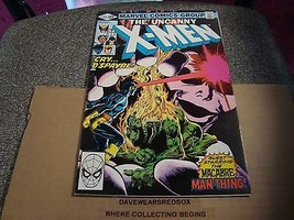 X-Men 144 Original Marvel Comic Book from 1981 Man Thing / Macabre VF Co... - $5.45