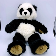 "BAB  Build a Bear Workshop 15"" PANDA Plush Stuffed Animal Toy Bear Brown... - $16.82"