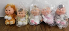 LOT NEW 5 Cabbage Patch Kids CPK 25th Anniversary Snugglies dolls Xavier - $18.69