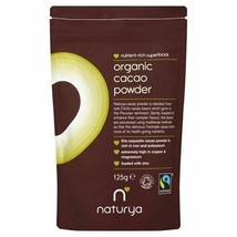 Naturya Organic Fair Trade Cacao Powder 125g - $17.27