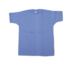 NOS Vtg 90s Fruit of the Loom Short Sleeve Blank T-Shirt Periwinkle USA ... - $34.60