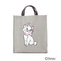 [Limited item] Disney Aristo cats Marie plaid tote bag handbag shopping bag - $72.27