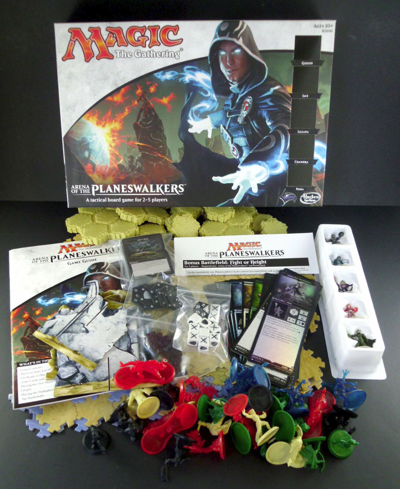 Magic The Gathering Arena of the Planeswalkers Tactical Board Game Complete MTG
