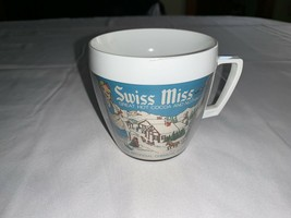 Vintage 1970 SWISS MISS Thermo Serv Insulated Mug Cup Cocoa Hot Chocolate - $11.39