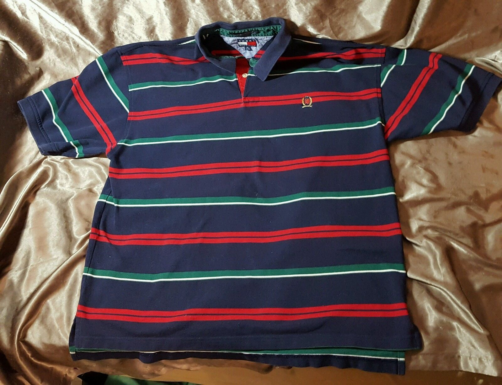 9d536fe5 Mens Vintage 90's Tommy Hilfiger Striped and 50 similar items. S l1600