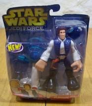 Playskool Star Wars Han Solo W/ Jet Bike Chunky Action Figure Toy 2005 New - $16.34