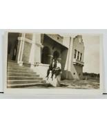 Arizona RPPC Glendale High School built 1912 Real Photo c1915 Postcard D3 - $24.95