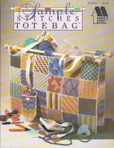 Annies Attic #PCCP51 Sample Stitches Tote Bag Booklet - $8.42