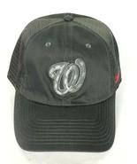Washington Nationals MLB Men's Baseball Cap Hat Strapback Gray - $29.20