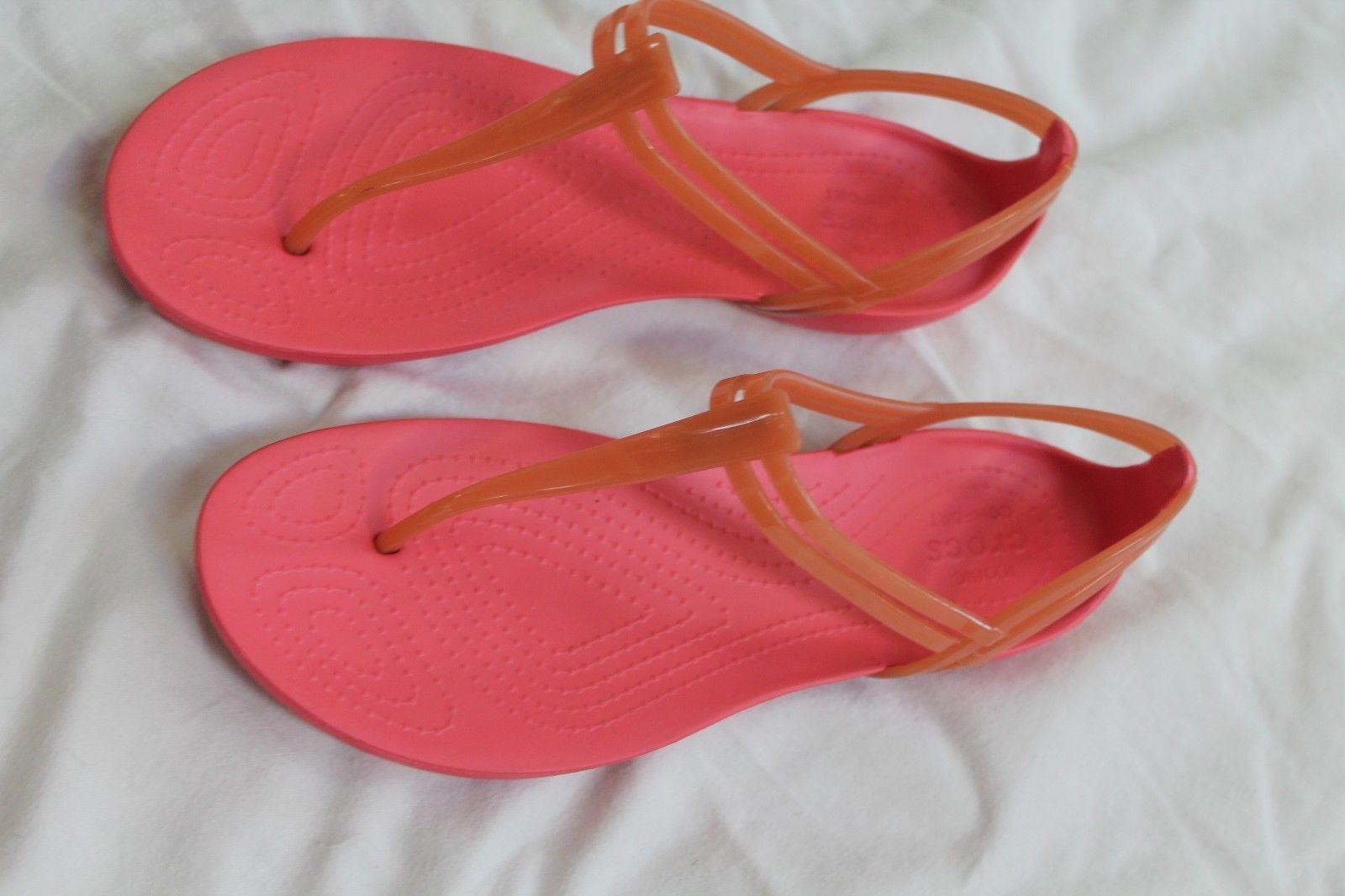 c662abb55692 Crocs Women s Isabella T-Strap Sandals Pink and 50 similar items