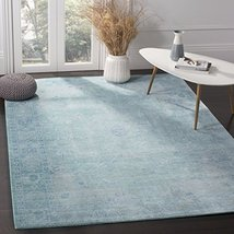 Safavieh Valencia Collection VAL103T Boho Chic Distressed Area Rug, 6' x... - $194.81