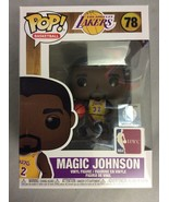 Funko Pop! Basketball: Los Angeles Lakers Magic Johnson (Lakers Home) Fi... - $59.99