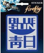 Firefly / Serenity Blue Sun Logo Peel Off Sticker Decal NEW SEALED - $5.94