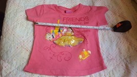 Girl's 'friends come in different shapes' kids pink blouse, no size tag,... - $14.85