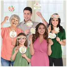 amscan 3900258 Floral Baby Photo Booth Props-13 Pcs, Multi - $57.00