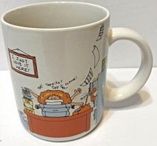 Vintage 1984 Hallmark Coffee Mug-How to Get Along at the Office, Cathy Guisewite - $12.60