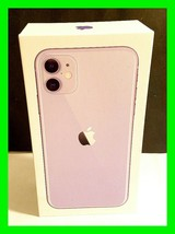 Apple iPhone 11 BOX ONLY Purple Empty Original Box With Apple Stickers - $11.64