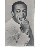 """Bill Crosby 3 1/2"""" X 5 1/2"""" B/W Picture with Autobiography by BILLBOARD - $1.75"""