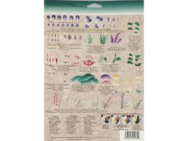 Plaid FolkArt Donna Dewberry Reusable Teaching Guide Wild Flowers #1135 image 2