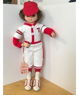 Vintage Lady Porcelain Doll  Baseball Player Cleated Shoes Brinn's - $9.49