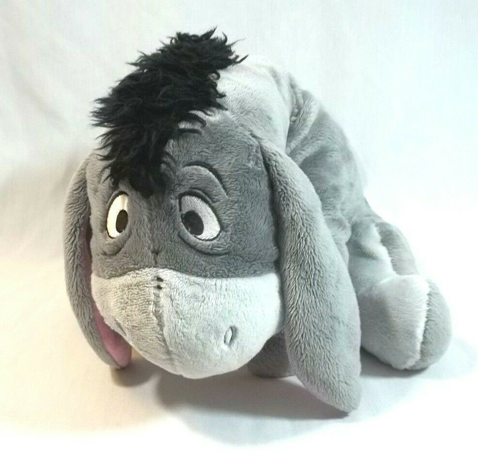 Disney Store Eeyore Plush Stuffed Animal 14 Inch