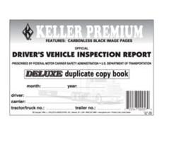 J.J. Keller 115B Duplicate Carbonless Drivers Vehicle Inspection Report ... - $3.28
