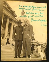 Jimmy Quillen Signed & Inscribed Photo with Civil Rights leader Lt. Geor... - $35.00