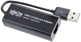 Tripp Lite USB 2.0 Hi-Speed to Ethernet NIC Network Adapter, 10/100 Mbps... - $38.12
