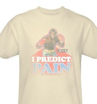 Mr. T T-shirt I predict pain clubber lang retro Rocky 80s movie tee MGM114 image 2