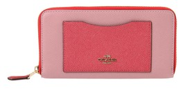 Coach Accordion Zip Wallet in Geometric ColorBl... - $247.50