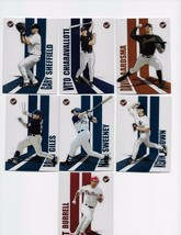2004 TOPPS PRISTINE 7 CARD LOT #'S 11.29,53.79.83.101,152 - $0.99