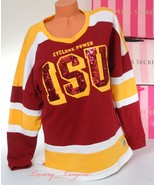 PINK VS Collegiate Collection Iowa State Cyclones Crew Sport Sweetshirt ... - $47.99