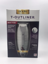 Andis T - Outliner Corded Trimmer #04710 Made In Usa Best For Dry Shaving, Fadin - $69.25