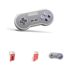 8Bitdo SN30 2.4G Wireless Controller for SNES Classic Edition - $34.83