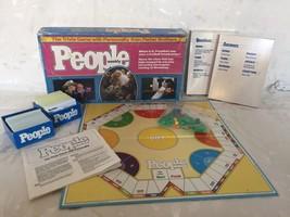 Vintage 1984 PEOPLE WEEKLY Trivia Board Game - $16.38