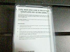 Micro-Trains Stock # 00102060 (2006) Civil War Era Link & Pin Style Couplers (N) image 3