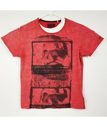 GUESS Go West Or Go Home Red Tee T-Shirt Size Medium EUC - £14.40 GBP