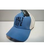 Salt Life Hat One Size Fits Most ( A- Flex ) Color Blue & White - $25.20