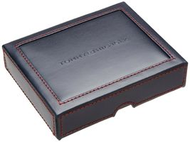 NEW TOMMY HILFIGER MEN'S LEATHER CREDIT CARD WALLET PASSCASE BILLFOLD 5675-02 image 4